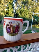 Antik pohár, jelzett