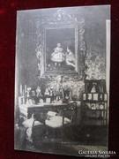 ERZSÉBET KIRÁLYNÉ SZISZI RÉGI KÉPESLAP EMLÉKMÚZEUM 1924 BUDAPEST KIRÁLY PALOTA VÁR