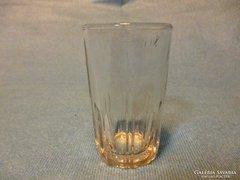 Féldecis mércés üveg pohár régebbi jelzéssel