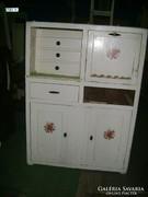 Régi konyha vagy tálaló szekrény - fenyő