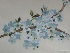 Csodaszép faágas / virágos  paplanhuzat