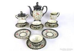 0L491 Antik Bavaria porcelán kávéskészlet