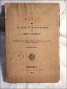 Csiky Gergely : Jóslat , Vígjáték öt felvonásban 1879