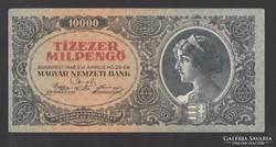 Tízezer milpengő 1946.  EF++!  GYÖNYÖRŰ !!!