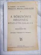 Magaziner Pál : Börzsönyi Hegység részletes kalauza 1931