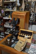 Binokuláris mikroszkóp+tartozékok