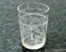 0L451 Antik hadi emlék pohár KASSA 1910