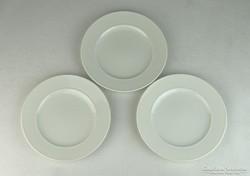 0L639 Rosenthal fehér porcelán tányér 3 darab