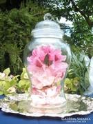 Öntött üveg tároló
