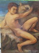 Caravaggio követője ,festmény