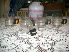 Retro teás csésze, pohár - öt darab