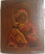 Orosz ikon;19.szd vege