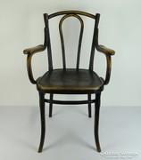 0L930 Jelzett antik osztrák thonet karfás szék