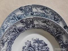 6 db gyönyörű mintás porcelán tányér egyben eladó