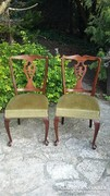 Neobarokk szék párban
