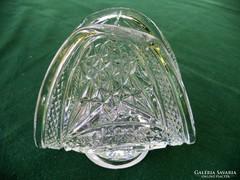 Öntött üveg szalvétatartó