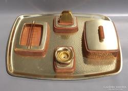 Retro design asztali kínáló szett 1970-es évek