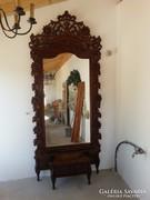 Szecessziós Kastély tükör 276 cm x 120 cm