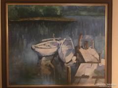 Csónakázótó - Szolnoki Művésztelepről