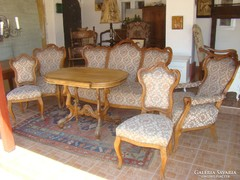 Antik barokk ülögarnitúra