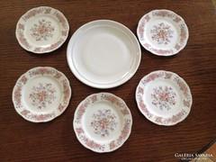 Kínai sütis tányérok - ajándék kínáló tállal (5+1 db)