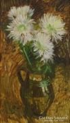 0M336 Major jelzéssel : Őszirózsás virágcsendélet