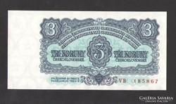 3 korona 1961. TÖKÉLETES UNC!!