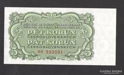 5 korona 1953. TÖKÉLETES UNC!!
