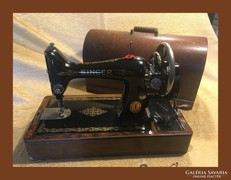 1924-es asztali Sunger varrógép,tekerős
