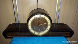 Antik zenélő Ankeruhr kandalló óra!