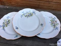 Zsolnay margarétás lapos tányérok 3 db