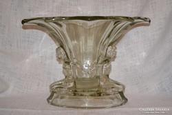 Art deco nőalakos váza 02   ( DBZ 0092 )