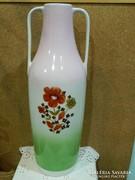 Cmielow virágmintás 48 cm. padló váza.