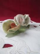 Hol3  Aquincum porcelán rózsa 13 cm