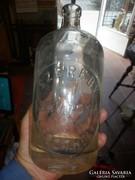 Szódásüveg szeredy keszthely