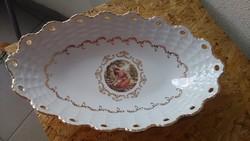 Nagy porcelán asztalközép