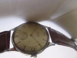 Szép állapotú svájci óra ritkaság a '60-as évekből