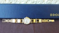 EDOX aranyozott eredeti svájci óra
