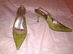 38-as eredeti bőrcipő kígyóbőr Dolce &  Gabbana női cipő