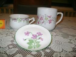 Ibolyás porcelánok