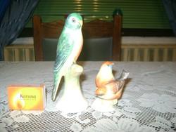 Kerámia madár figura - két darab