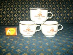 Alföldi porcelán teás csésze - három darab