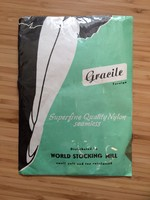 1960 évekből Gracile harisnya, nylon combfix 10 1/2