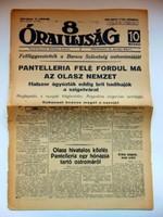 RÉGI ÚJSÁG 8 Órai Újság1943június10