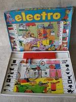Régi Elektro  Jumbo fejlesztő érintős elemes játék