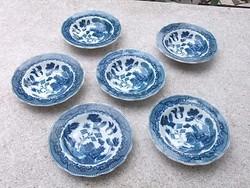 Keleti-japán mot.tányérkák varázslatos db-ok