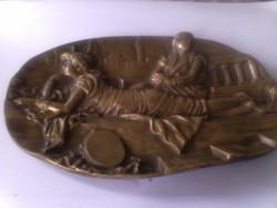 Különleges antik hamutartó
