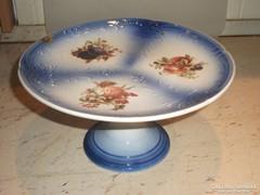Porcelán kék, kerek tortatartó eladó!Nagyon szép!
