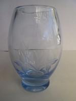 Kost&Boda gyönyörű világoskék ducos váza vastag falú