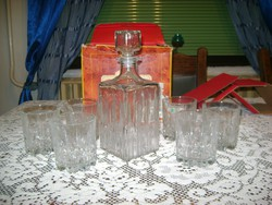 Retro whisky-s készlet